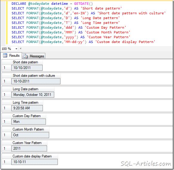 Sql server format date in Australia